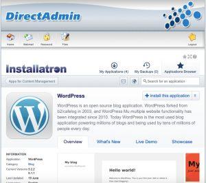 zelf wordpress installeren